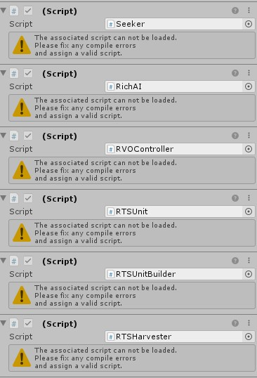Compile errors 4 3 2 unity 2019 3 - Installation - A