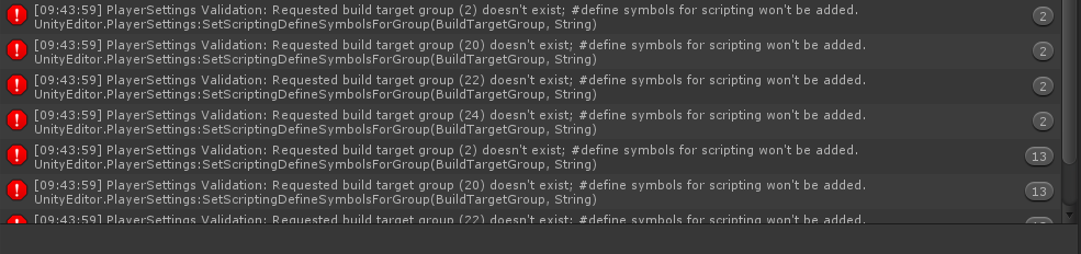 Optimizations compile error - Not switched on all build